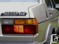 Make Volkswagen Model Jetta Sedan Year 1984 Colour tan