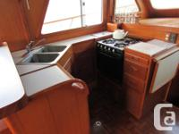 Well maintained, hard-to-find Europa trawler offers the