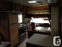 Very clean 1984 Ford Frontier Motorhome 82,665 km New 3