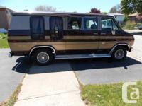 1984 gmc 3500 vandura custom Van body in mint condition
