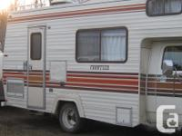 I have for sale a very nice GMC motor home. It has