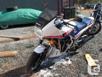 1984 honda interceptor 1000,in great shape besides