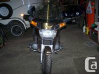 Brown, 1984 Honda Goldwing Aspencade for sale. 1200 cc,