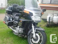 1984 Honda Goldwing Interstate motorcycle for sale. 2