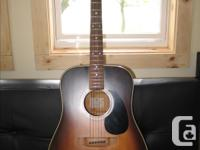 For sale is my K. Yairi acoustic guitar Model AR321S