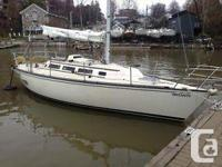 Ideal racer/cruiser for Lake Ontario, ready to sail