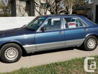 Make Mercedes-Benz Model 380 Year 1984 Colour Blue kms
