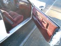 Make Chevrolet Model Monte Carlo Year 1984 kms 148000
