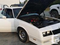 Make Chevrolet Model Monte Carlo Year 1984 Colour