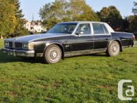 Make Oldsmobile Model 88 Year 1984 Colour Silver,