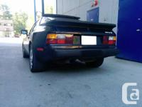 1984 Porsche 944. Bunches of brand-new and upgraded