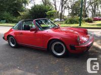 Make Porsche Model 911 Carrera Year 1984 Colour Red