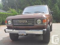 Make Toyota Model Land Cruiser Year 1984 Colour