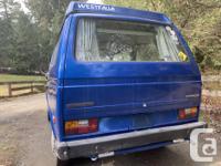 1984 Westfalia Vanagon campervan with standard