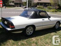 Make Alfa Romeo Model Spider Year 1985 Colour White