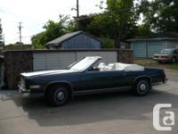 1985 Cadillac Eldorado Convertible. Acquired in