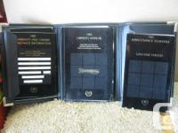 1985 Cadillac Eldorado owners manual have two, one is