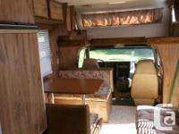 1985 Chevy 21 Foot Class C Motorhome. Would like