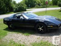 Make Chevrolet Model Corvette Year 1985 Colour black