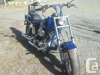 Make Harley Davidson Model Dyna Year 1985 kms 80649