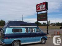 1985 Chevy Getaway van in excellent pre-owned condition