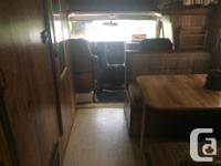 1985 GMC 21' Motorhome / New front brakes and calipers,