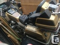 Make Honda Year 1985 kms 106836 1985 GoldWing GL 1200