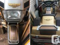 Make Honda Model Goldwing Year 1985 kms 106836 1985