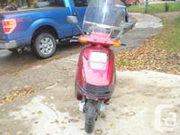 Nice running older Honda scooter with lots of power!The
