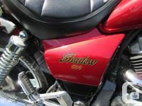 Make Honda Model Shadow kms 41175 For sale,1985 Honda