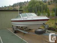 Offer for sale 1985 malibu boat with evirude 140 hp