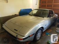 Make Mazda Year 1985 Colour Silver Trans Manual kms