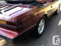 1985 Mustang Convertible Auto...original paint..carpets