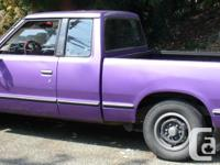 Make Nissan Model Pickup Year 1985 Colour purple kms