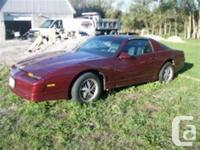 Welland, ON 1985 Pontiac Trans AM Hatchback This