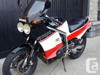 Rare Japanese import GSXR 400 with styling of the