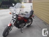 Make Honda Model Shadow Year 1985 kms 27000 Great all