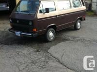 Make Volkswagen Model Vanagon Year 1985 Colour Brown