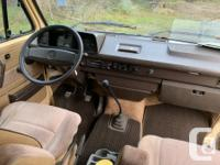 Used, !985 VW Westfalia Vanagon Campervan for sale. This van for sale  British Columbia
