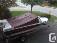 1986 Peterborough, 16.5 ft. Don't help  this watercraft