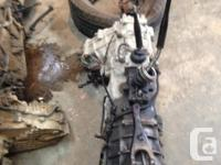 Hi there I have two Toyota transmission for sale one is