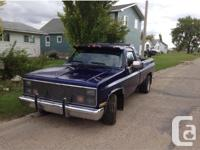 Make Chevrolet Model 1500 Year 1986 Colour Blueish