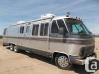 This is a 1986 Airstream  model 345.  It is a 35 foot