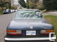 Make BMW Model 5 Series Year 1986 Colour blue kms