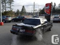 Make Buick Model Grand National Colour Black Trans