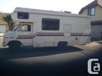 1986 Chev Citation 21 foot motorhome, in original