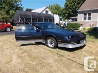 Welland, ON 1986 Chevrolet Camaro Z28 This fun to