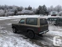 Make Ford Model Bronco II Year 1986 Colour Brown kms