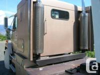 1986 Freightliner FL112 RV Tow Vehicle. L10, 330 H.P.,