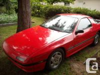 Make Mazda Model RX-7 Year 1986 Colour red kms 200000